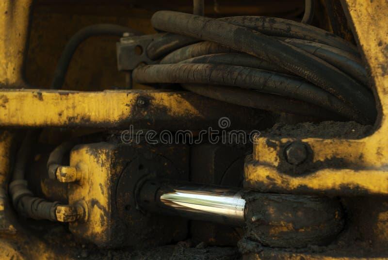 Movimentação hidráulica imagem de stock