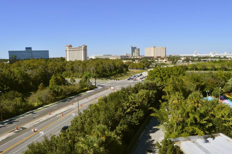 Movimentação internacional em Orlando Florida fotografia de stock royalty free