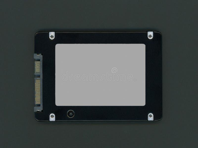 Movimenta??o de circuito integrado do SSD fotos de stock
