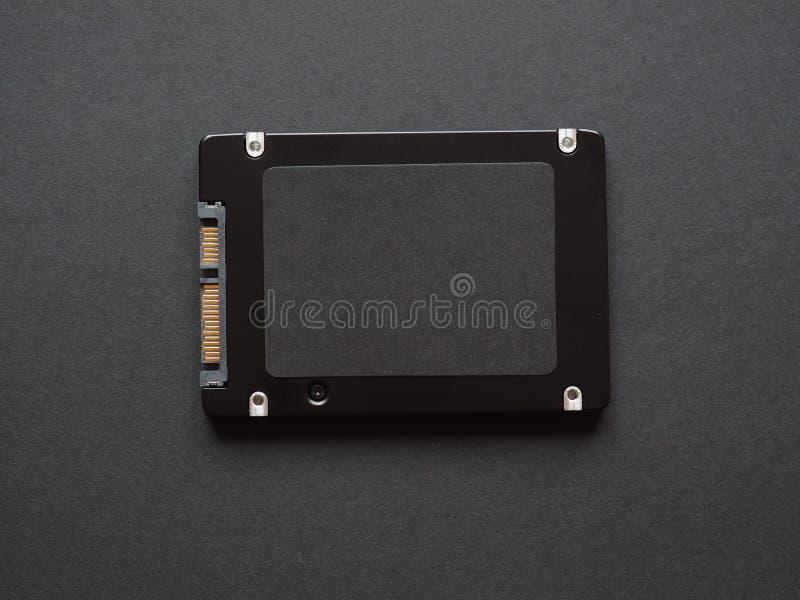 Movimenta??o de circuito integrado do SSD imagens de stock