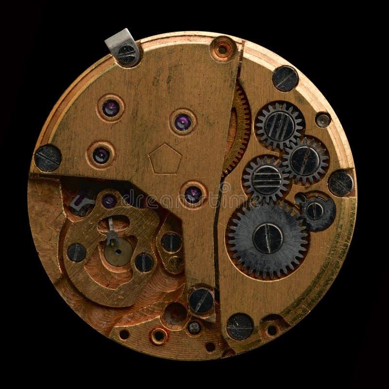 Movimenti a orologeria immagine stock libera da diritti