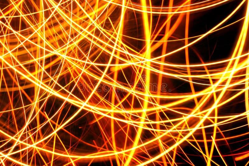 Movimento abstrato da luz do borrão foto de stock royalty free