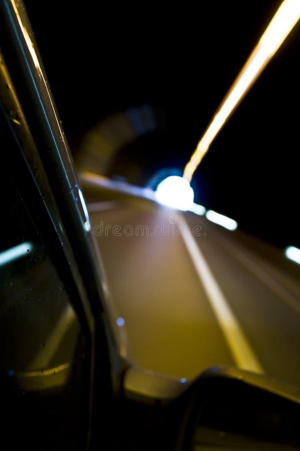 Movimento borrado do carro. imagens de stock