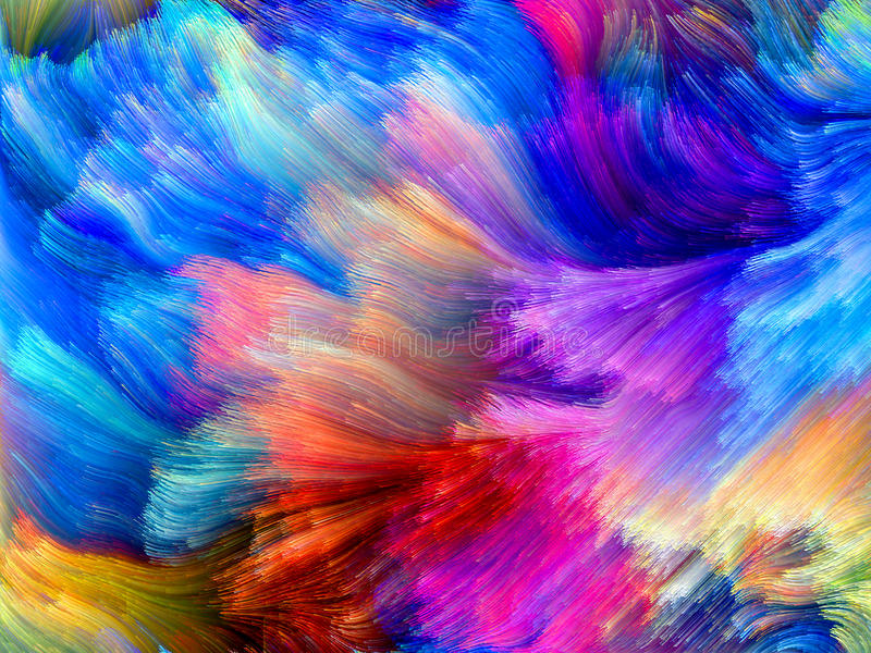 Movimento colorido foto de stock