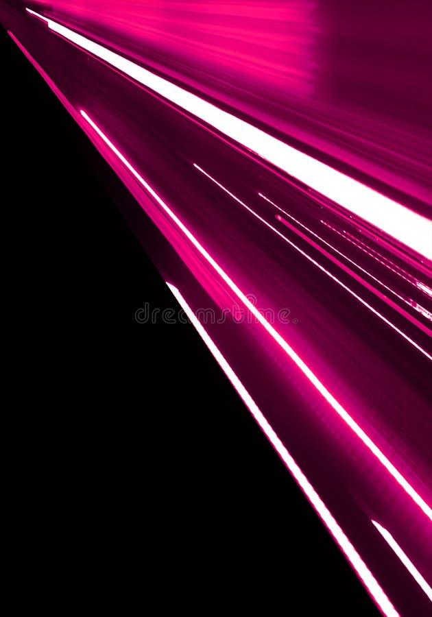 Movimento cor-de-rosa ilustração do vetor