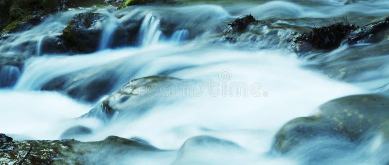 Movimento da água fotografia de stock