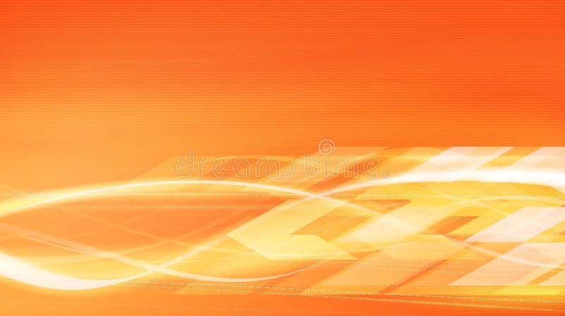 Movimento da energia calorífica na ilustração do vetor ilustração royalty free