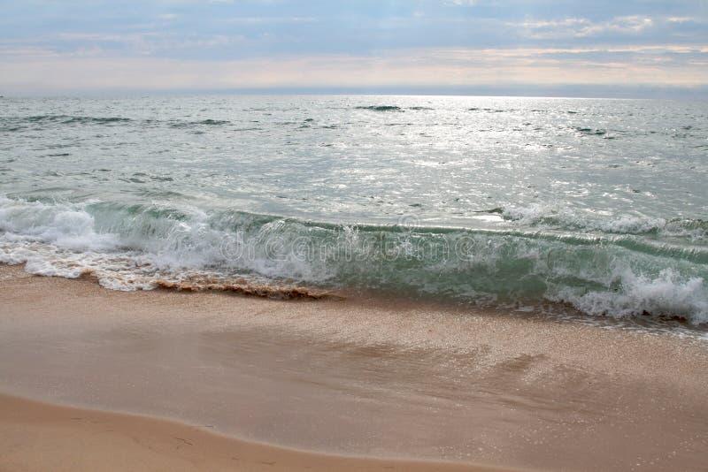 Movimento dell'oceano fotografie stock