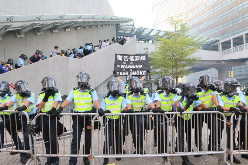 Movimento dell'ombrello in Hong Kong immagini stock
