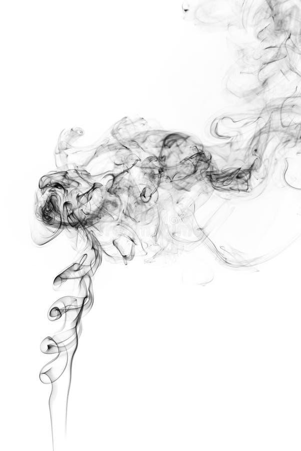 Movimento do gelo do fumo fotos de stock royalty free