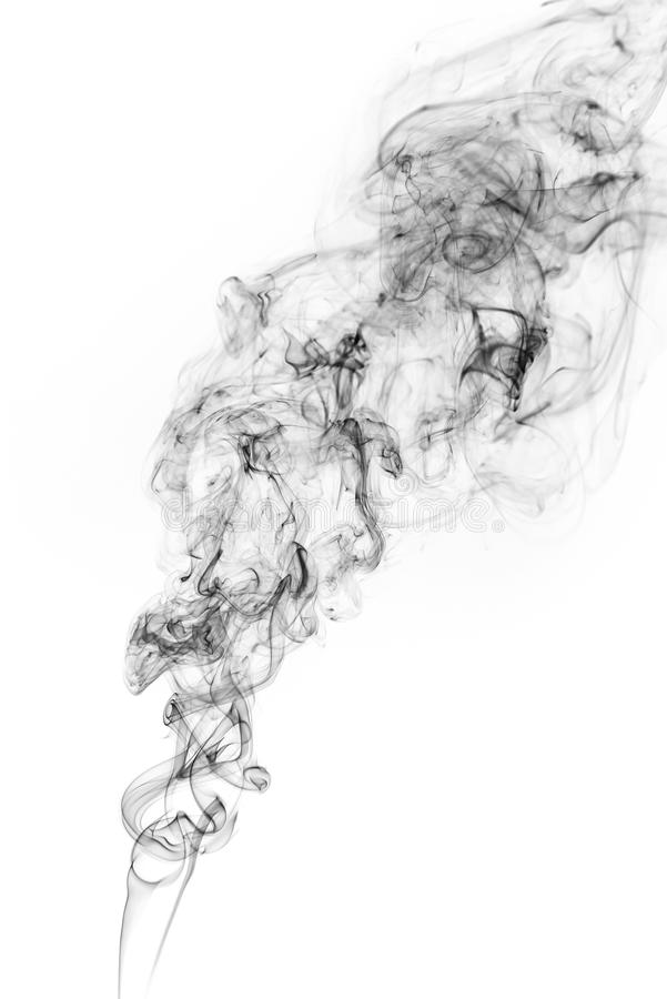 Movimento do gelo do fumo fotos de stock