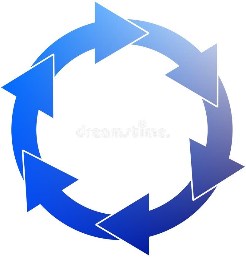 Download Movimento perpétuo ilustração stock. Ilustração de branco - 55908