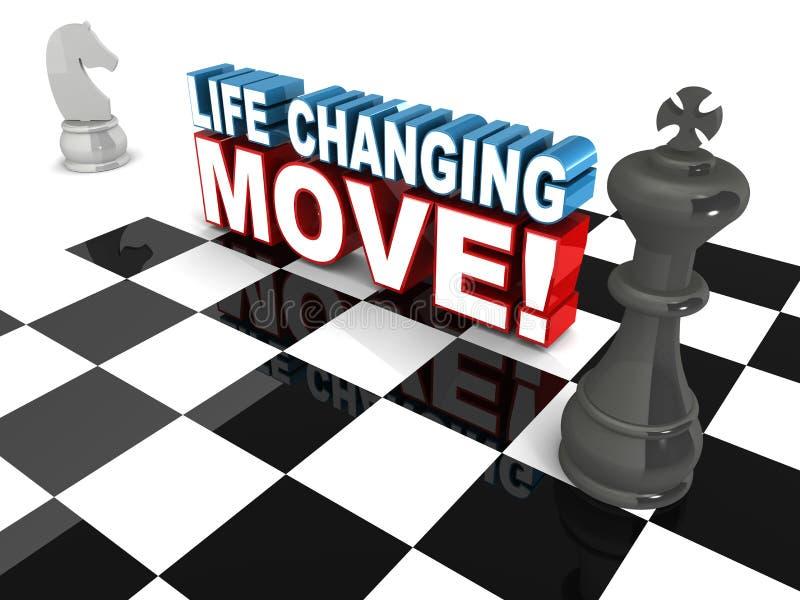 Movimiento cambiante de la vida libre illustration