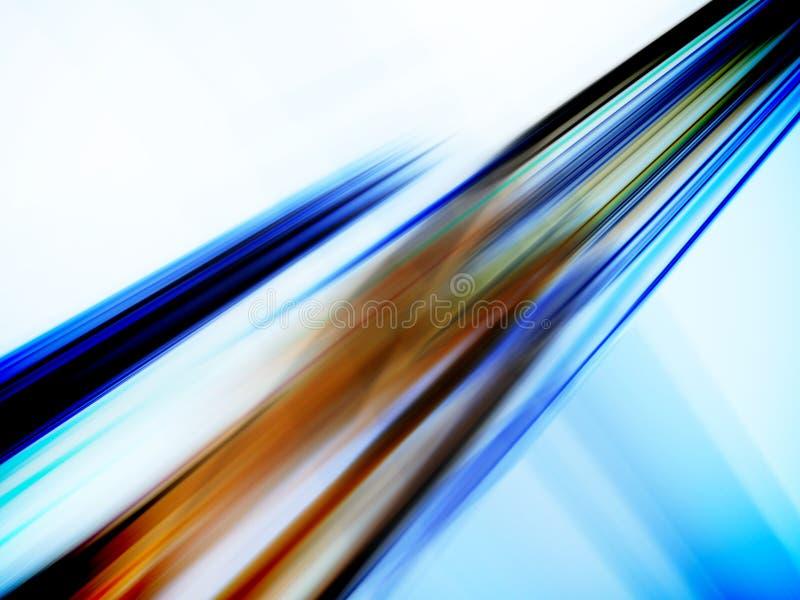 Movimiento de alta velocidad ilustración del vector