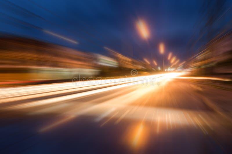Movimiento de la velocidad imágenes de archivo libres de regalías