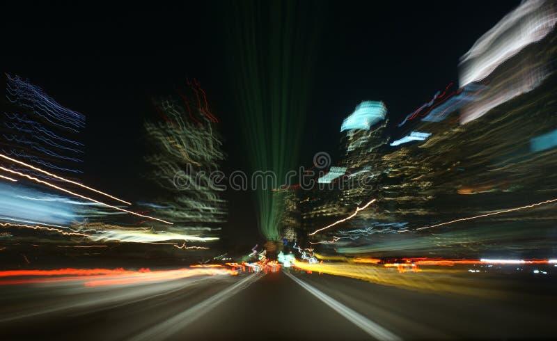 Movimiento de Los Ángeles imagenes de archivo