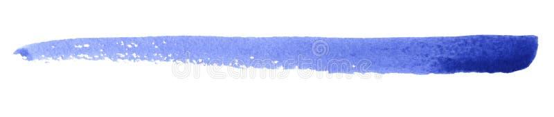 Movimiento del cepillo del Watercolour imagen de archivo