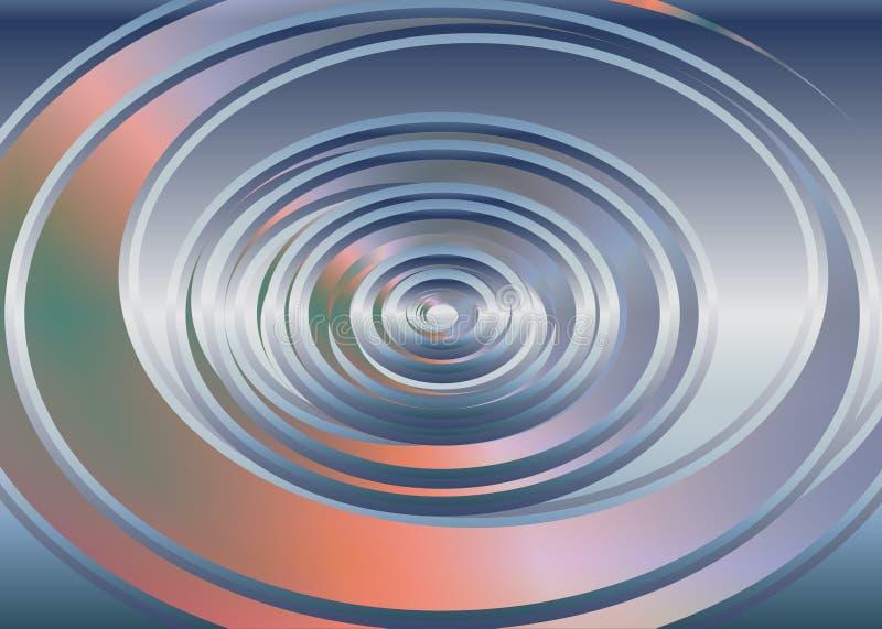 Movimiento Espiral. Fondo Abstracto. Fotografía de archivo libre de regalías