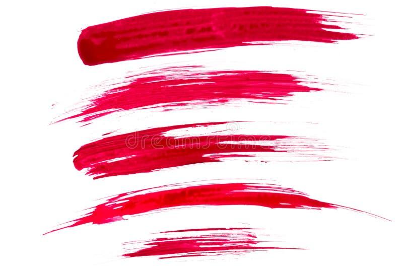 Movimientos del cepillo de pintura foto de archivo libre de regalías