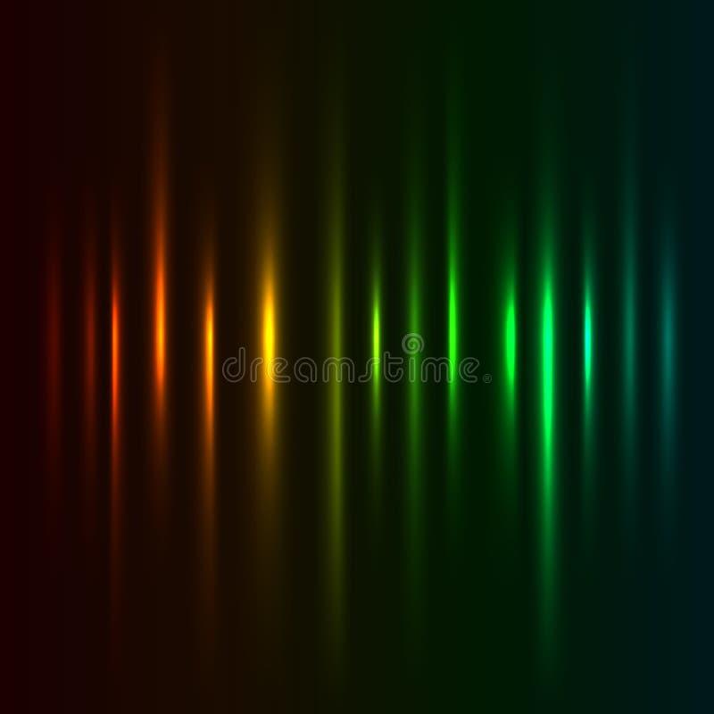 Movimientos ligeros ilustración del vector