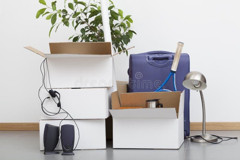Moving куча дома стоковые фото