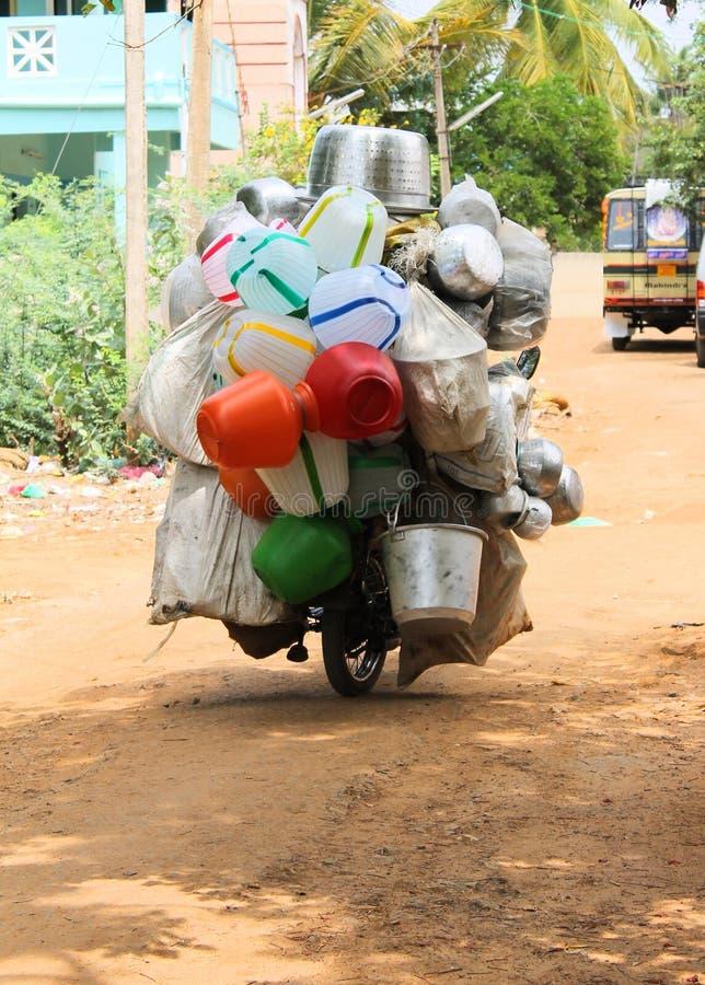 Moving магазин бака стоковые фотографии rf