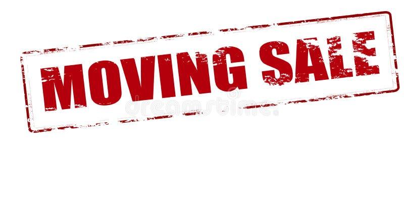 Moving продажа бесплатная иллюстрация