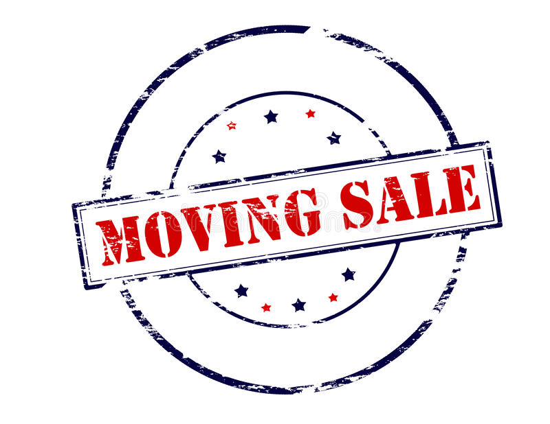 Moving продажа иллюстрация вектора