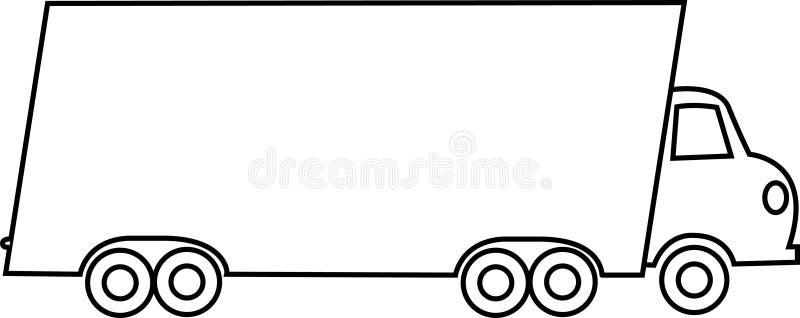 moving тележка бесплатная иллюстрация