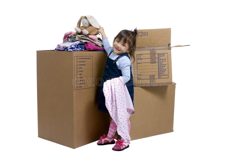 Moving 02 Stock Image