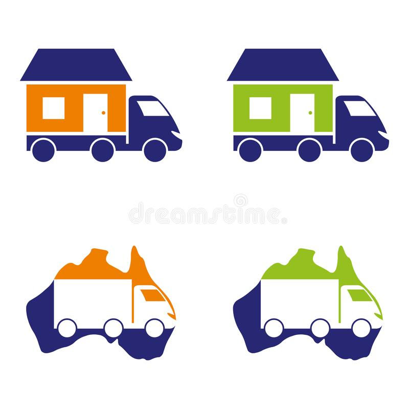moving vector illustratie