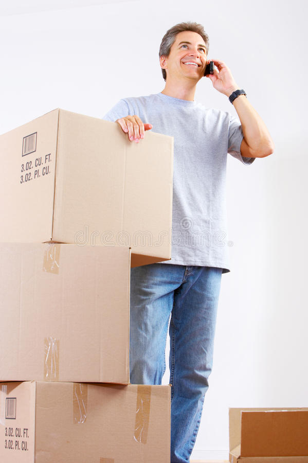 Download Moving stock photo. Image of people, interior, moving - 10934162