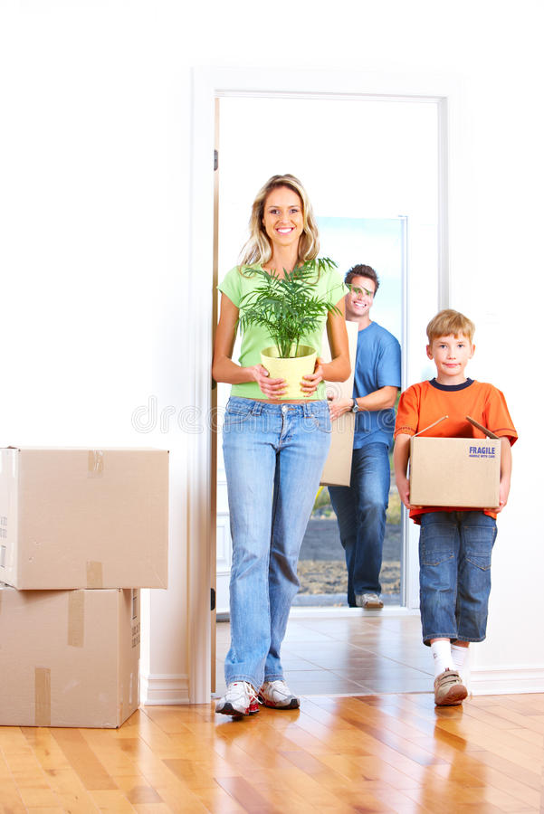 Download Moving stock photo. Image of packing, family, dream, boxes - 14016290
