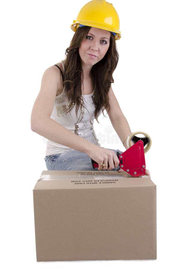 Download Moving (2) stock photo. Image of gifts, helmet, construction - 24969212