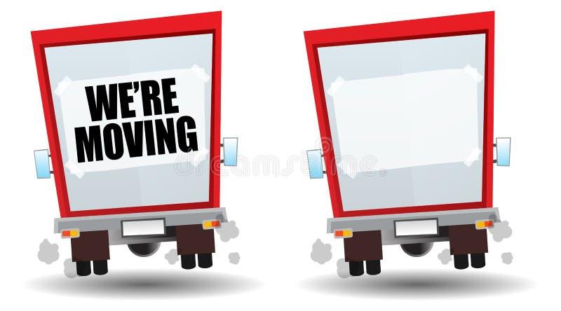 Moving royalty free illustration