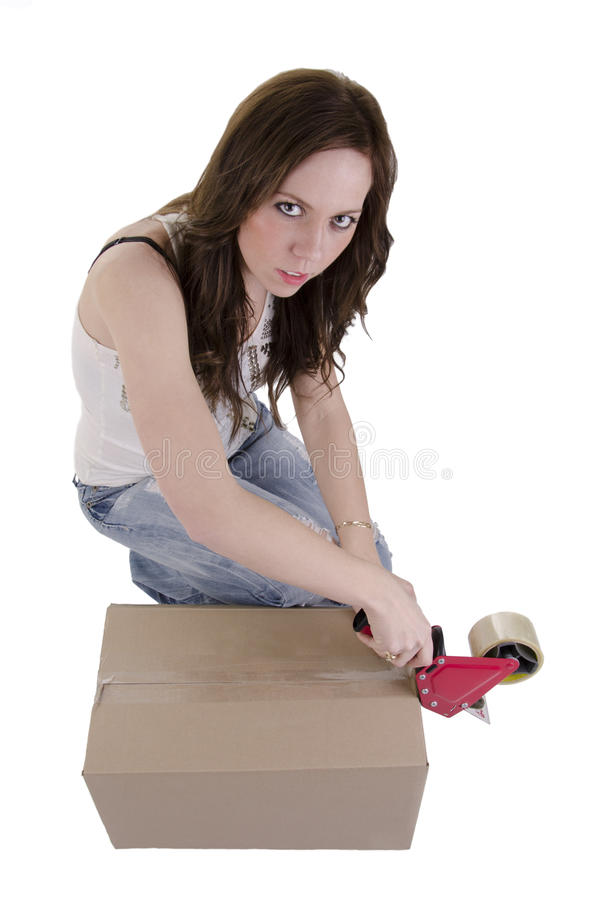 Download Moving stock photo. Image of adult, boxes, parcels, postage - 24969080