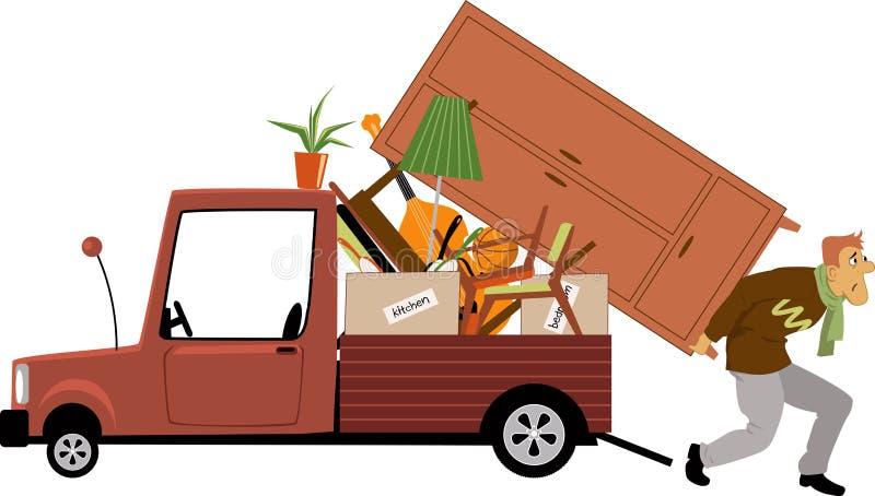 moving stock illustrationer