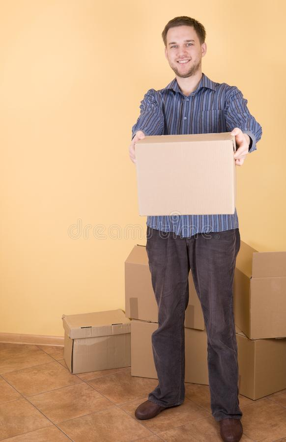Moving in royalty free stock images