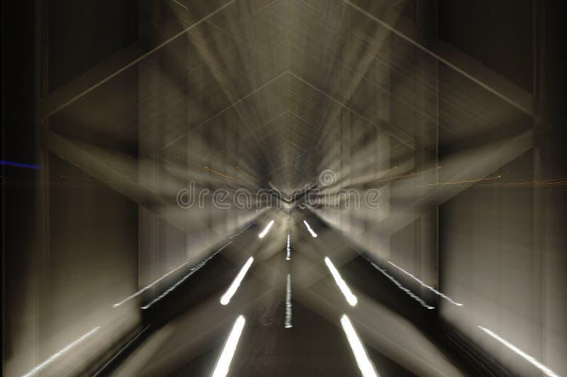 The moving bridge royalty free stock image