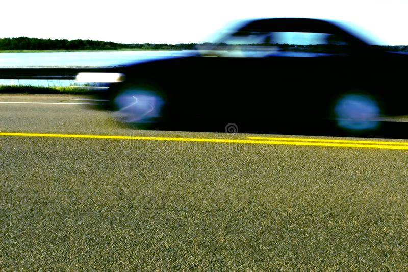 Moving Car royalty free stock image