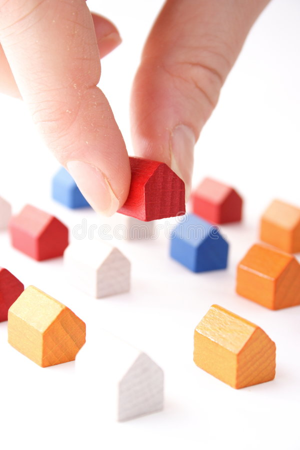 Moving in concept stock photos
