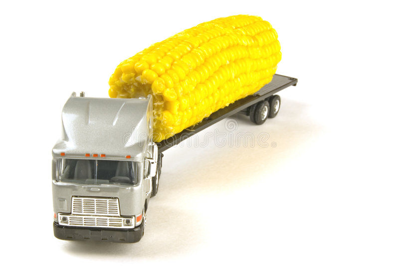 Moving corn royalty free stock photo
