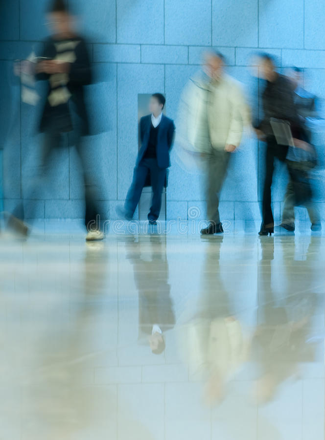 Download Moving Crowd. Motion Blur Royalty Free Stock Photos - Image: 11915648