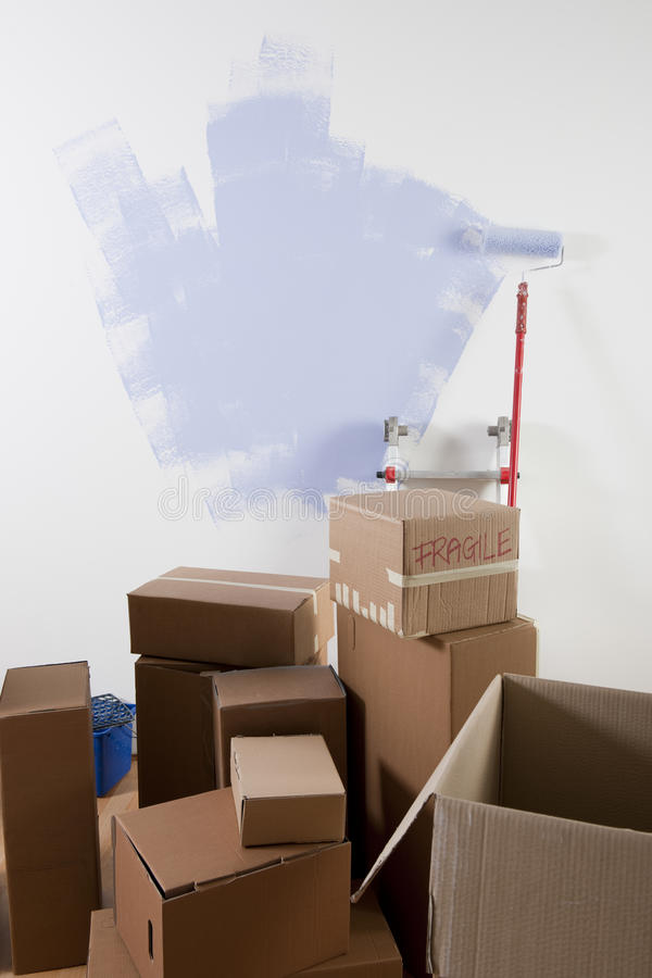 Free Moving Day Royalty Free Stock Photo - 17245235