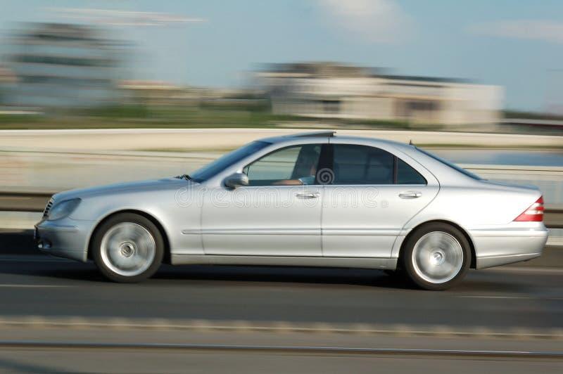Moving elegant car royalty free stock photos