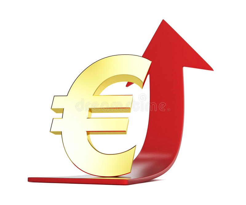 Download Moving The European Currency Stock Illustration - Illustration: 15596231