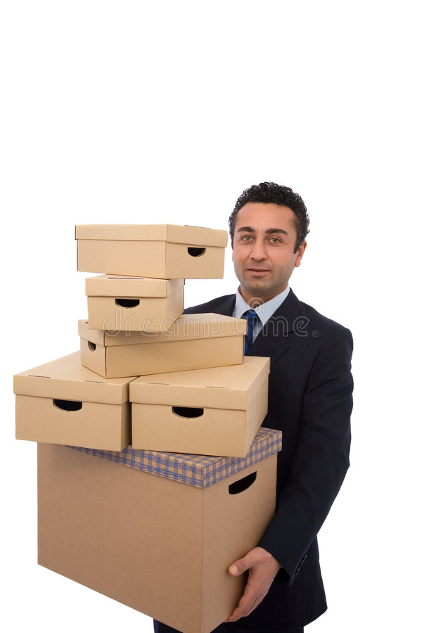 Moving House Royalty Free Stock Image
