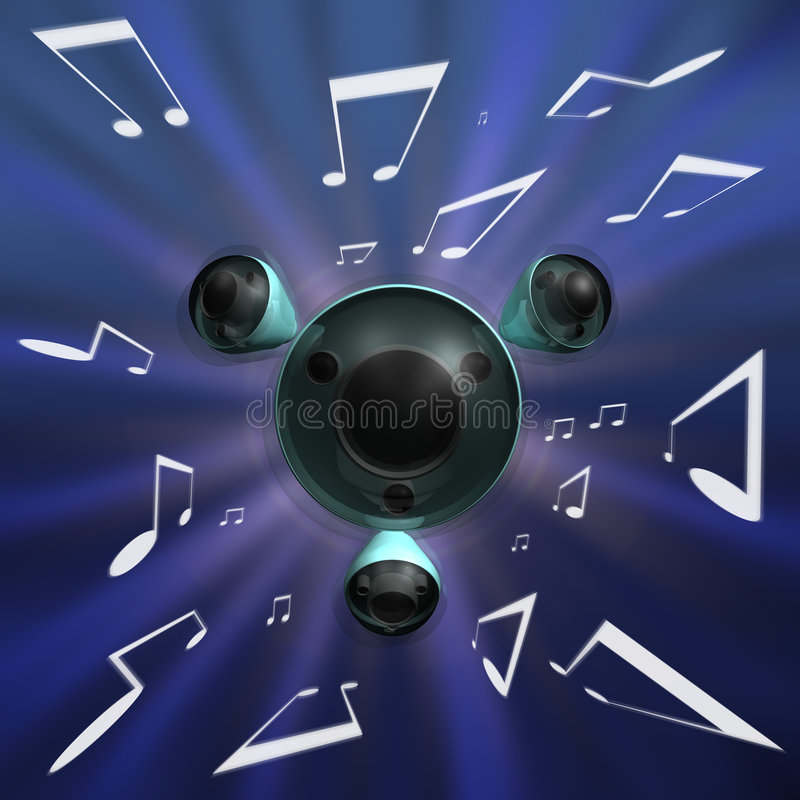 Download Moving ljud stock illustrationer. Illustration av framför - 984862