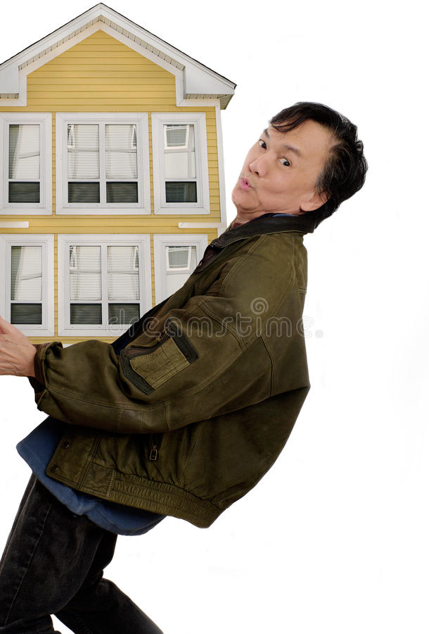 Download Moving In New House Stock Image - Image: 14266881