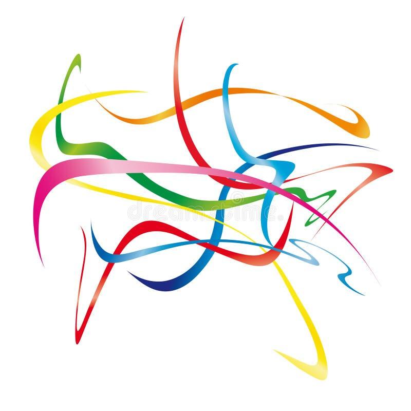 Download Moving Ribbons (vector) Royalty Free Stock Image - Image: 12294356